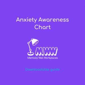 employee anxiety awareness chart