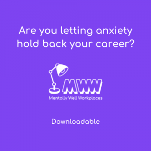 anxiety careers